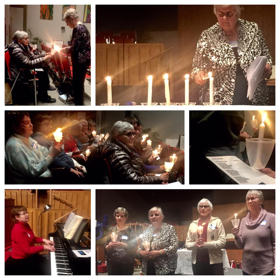 UCW Candlelight Service